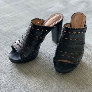 See by Chloe Black Open Toe Sandals